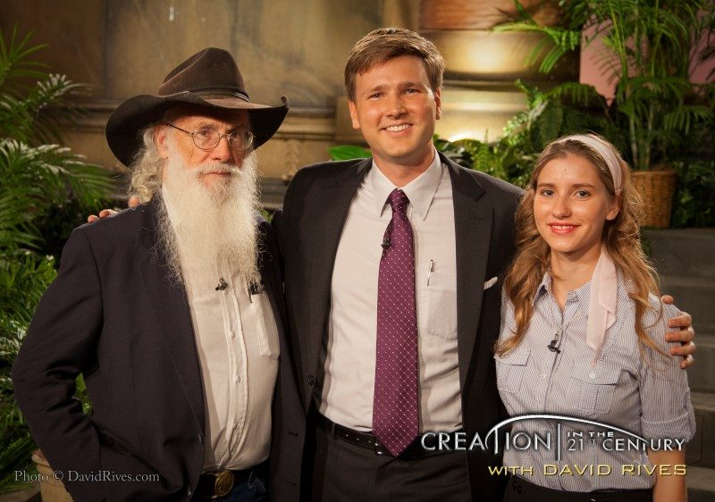 """Creation in the 21st Century"" episode: ""Rapid Burial Proves A Worldwide Catastrophe"" with Joe Taylor and Sara Bruegel of ""Mt. Blanco Fossil Museum"""
