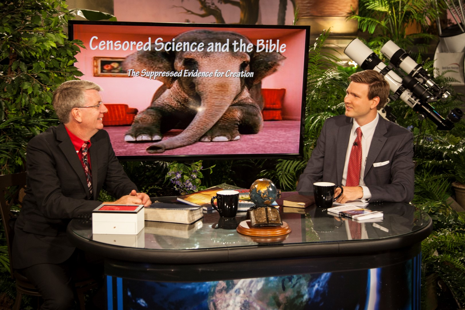 """Creation in the 21st Century"" episode: ""Monkey Business"" with guest Bruce Malone of ""Search For The Truth Ministries"""
