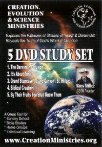 Russ Miller 5 DVD Study Set